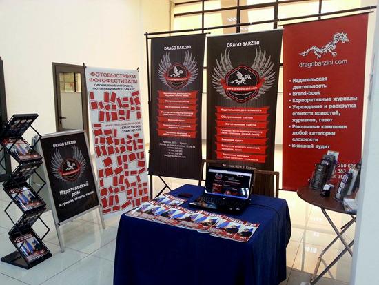 «Դրագո Բարզինի» ընկերությունը մասնակցեց «Կովկաս Շինարարություն և վերանորոգում EXPO 2014» ցուցահանդեսին