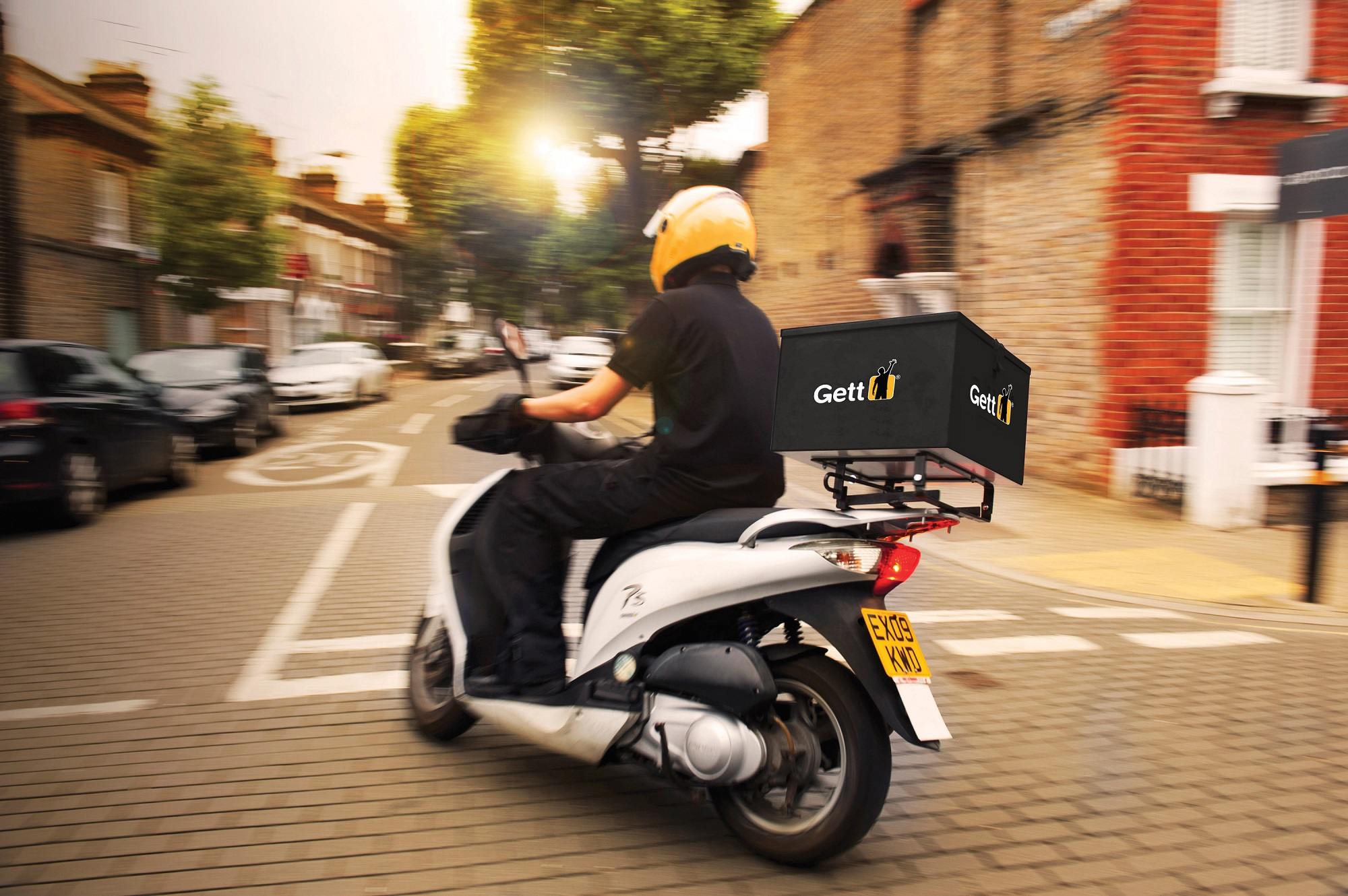 OZON будет доставлять товары с помощью Gett Delivery