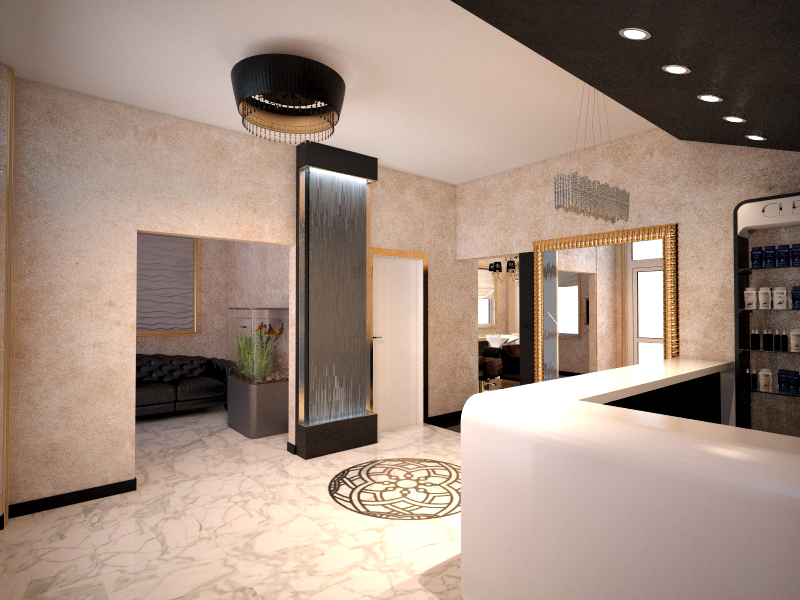 Интерьер салона красоты важный фактор лояльности посетителей и привлечения прибыли. Часть II