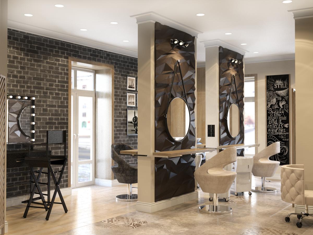Интерьер салона красоты важный фактор лояльности посетителей и привлечения прибыли. Часть I